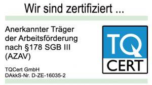 Zertifizierung - Logo